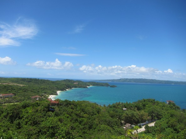 View from the top of Mt.Luho