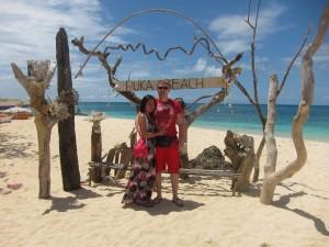 Puka Beach Boracay Island Philippines