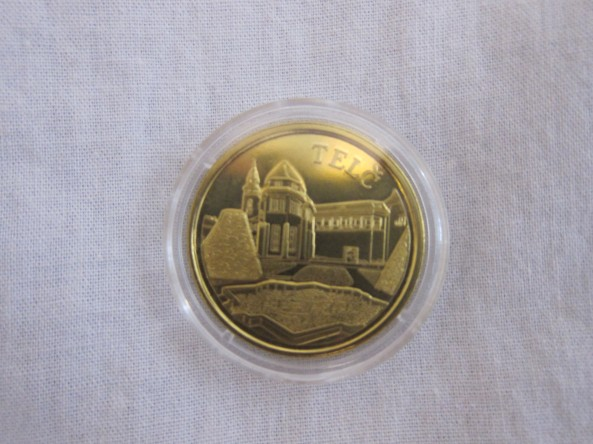 Telč souvenir coin for only 50 crowns