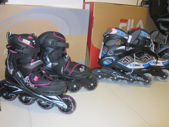 Rollerblade for both of us.