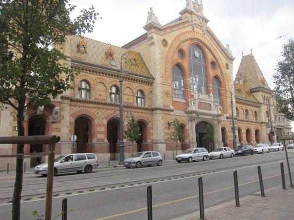 Central Market Hall Budapest, Hungary