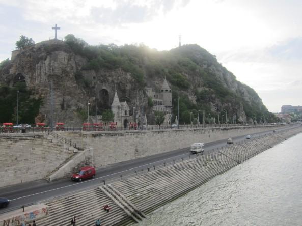 Gellért Hill Budapest, Hungary from a distance