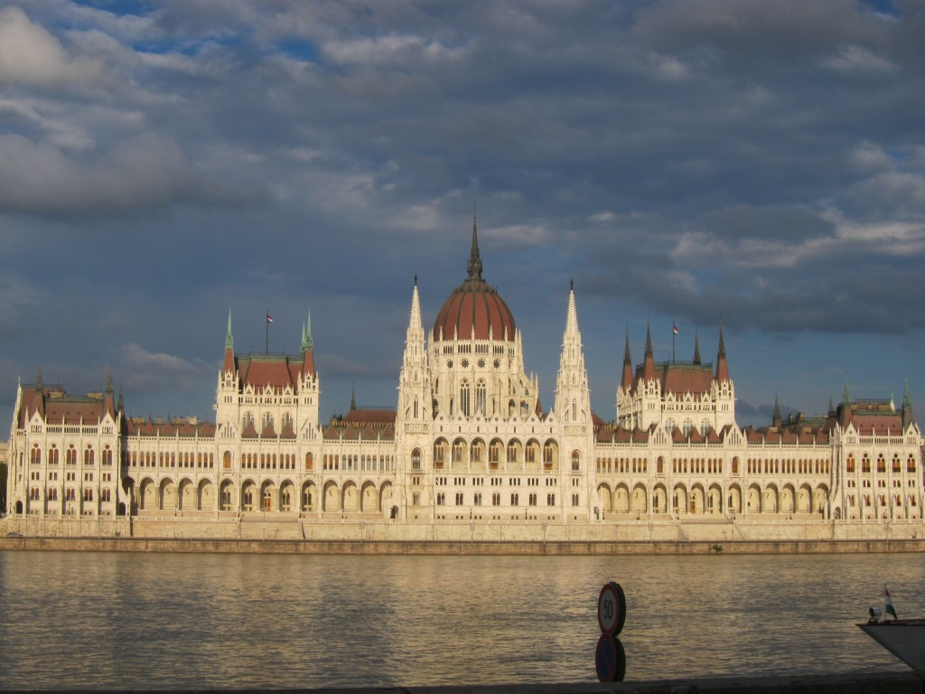 Parliament of Hungary at Daylight.