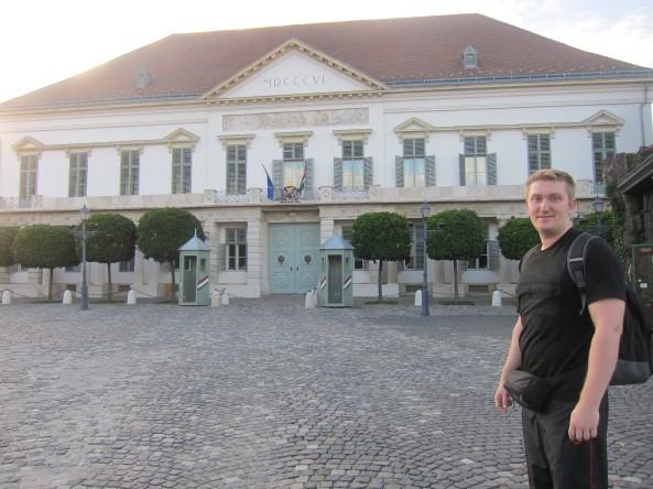 Sándor Palace Budapest, Hungary