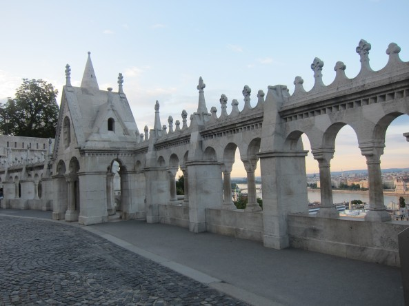 Somewhere in Fishermen's Bastion, Budapest