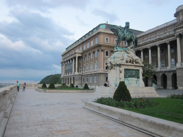 Another angle of the Buda Castle/Royal Palace
