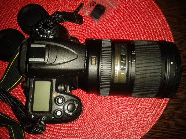 Our new camera Nikon D7000, with 18-300mm