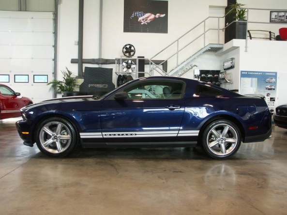 Ford Mustang 3.7 2011V6. (Photo credit to the shop)